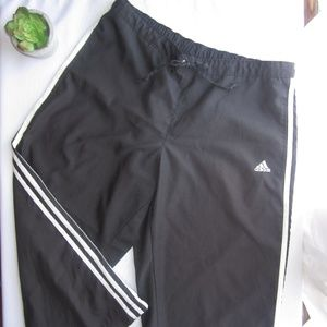 Adidas Black Capri Pants sz Large
